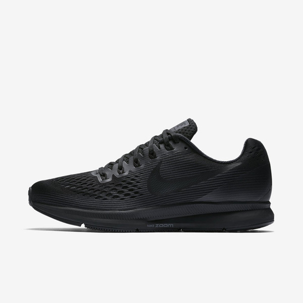 62a227c799595e6f4d440dbc501ad79e - NIKE AIR ZOOM PEGASUS 34 黑色 880555 003 男生 慢跑鞋