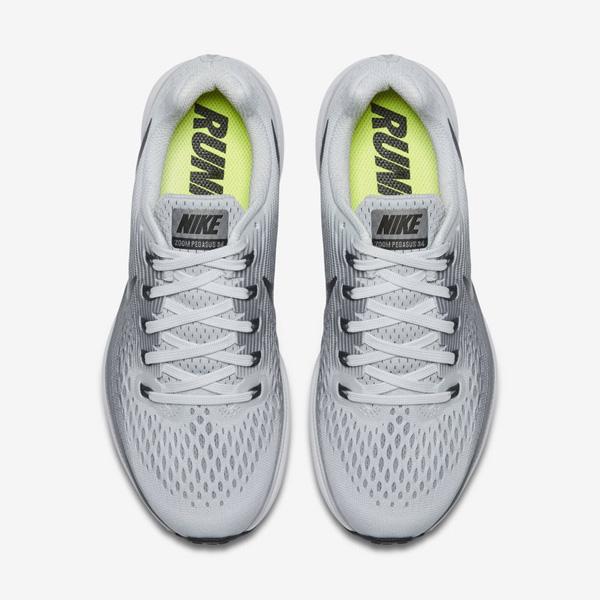 768e5c3e36d7b01ec9a1cd79c205f0dc - NIKE AIR ZOOM PEGASUS 34 淺灰黑 880555 010 男生 慢跑鞋