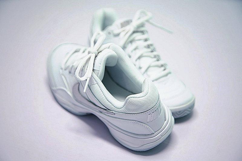 9615918dbb6222115f5b5ef49b75f994 - Nike Court Lite 韓系 復古 網球 旅遊鞋 白銀 845048-100