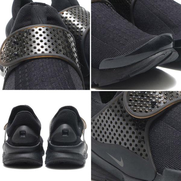 a73acd69cc51b7c759aed03d33b7c24f - NIKE SOCK DART SE DARK GREY 全黑 襪子 情侶鞋 819686-001