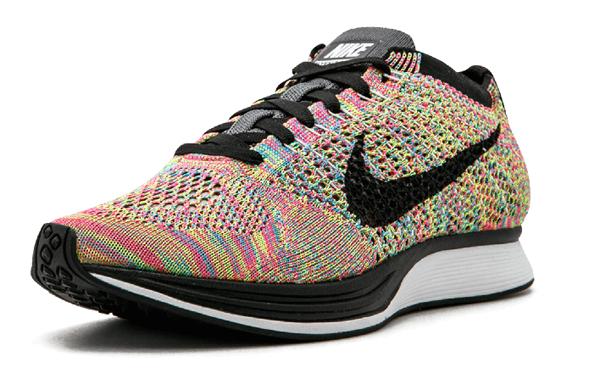 abf15c62144a08313b5e587c77299761 - Nike Flyknit Racer 彩虹 3.0 multicolor rainbow 526628 004 情侶鞋