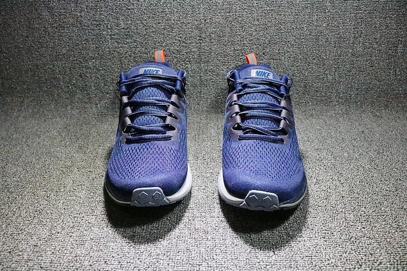 ad1dd8c535b0d2060722b7e7a32ad893 - Nike Air Zoom Structure 21 網面透氣輕運動跑步鞋 男鞋 907324-400
