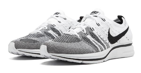 b6f47c22843b9b8778dd25bc0e944f7e - Nike Flyknit Trainer白黑 情侶鞋 飛線 AH8396 100