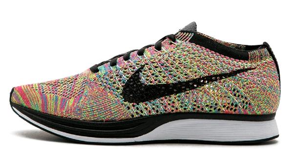 ba9c2eed15d7560d3d830c94c04ed0f0 - Nike Flyknit Racer 彩虹 3.0 multicolor rainbow 526628 004 情侶鞋