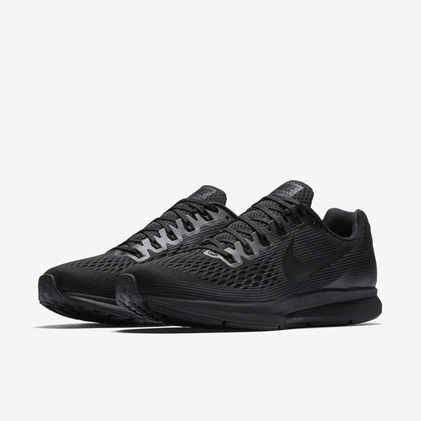 f27ce1e8ebea33ace0631a1569836b7d - NIKE AIR ZOOM PEGASUS 34 黑色 880555 003 男生 慢跑鞋