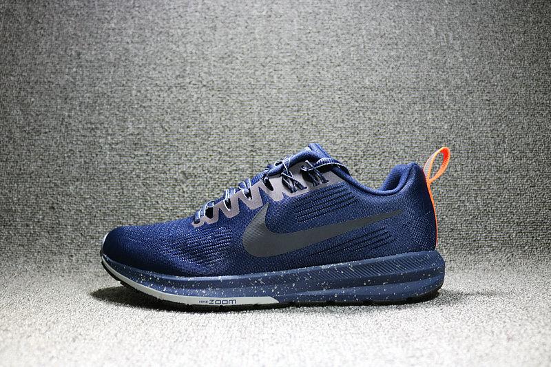 f575c993685395df8fd2cbc6e2e194a6 - Nike Air Zoom Structure 21 網面透氣輕運動跑步鞋 男鞋 907324-400