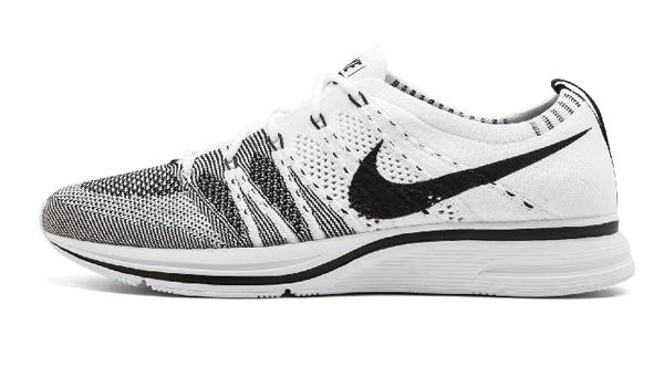 fbc5cf7439db96dfef77c0443a0e35e9 - Nike Flyknit Trainer白黑 情侶鞋 飛線 AH8396 100