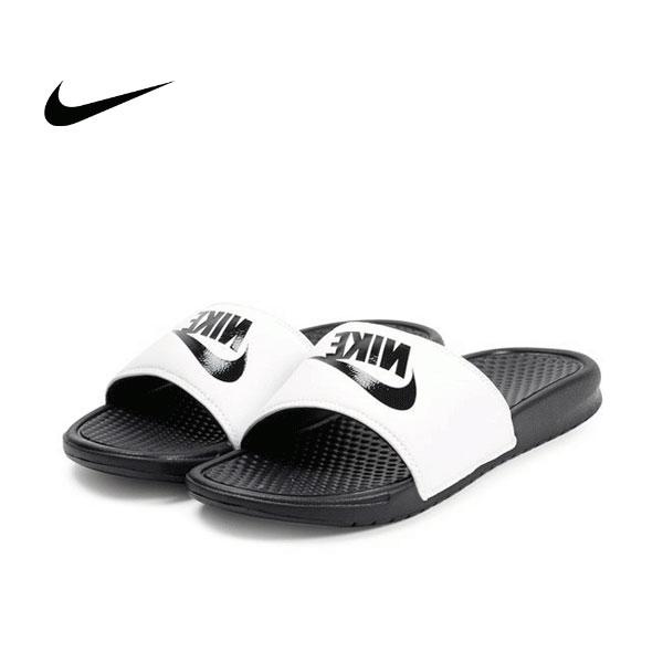 Nike Benassi JDI 343880-100 權志龍 基本款 GD 黑 白 拖鞋 情侶款
