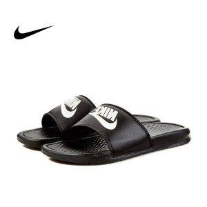 00707fea890b6d8b 1 300x300 - Nike Benassi Jdi 黑 白勾 拖鞋 情侶款 343880-090