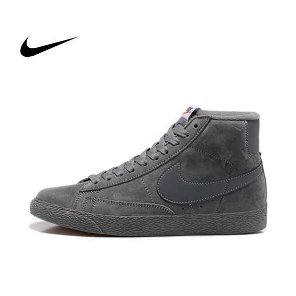 NIKE BLAZER LOW PRM VNTG  復古 碳灰 麂皮 防滑 情侶鞋