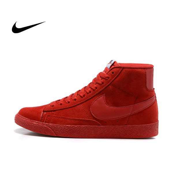 NIKE BLAZER LOW PRM VNTG   復古 全紅 麂皮 防滑 情侶鞋