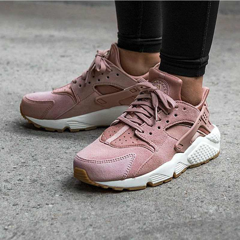 Nike Air Huarache Run Premium  華萊士 粉紅 女款 AA0524-600