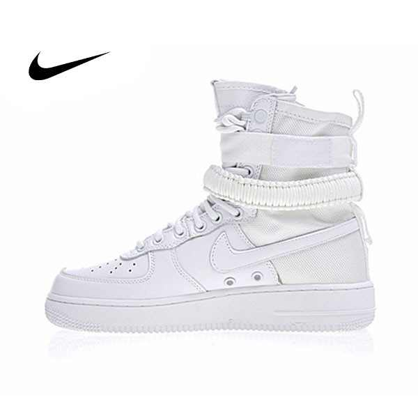 Nike Special Forces Air Force 1 空軍一號機能高街特種部隊系列高筒鞋 全白 859202-339