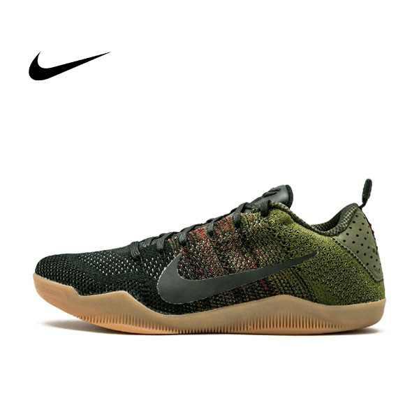 NIKE KOBE 11 4KB Kobe Bryant 黑墨綠膠底 籃球鞋 男 824463-063
