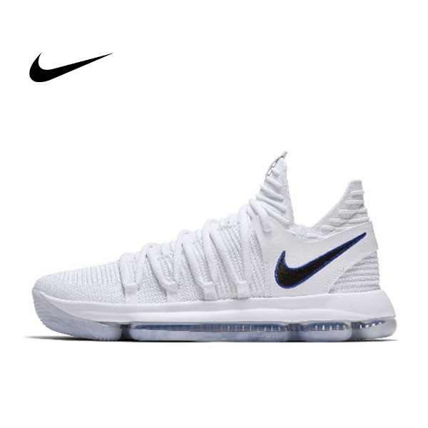 Nike Zoom KD10 EP 白色 勇士 男鞋 897816-101