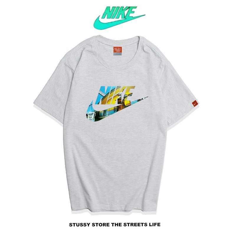 Nike Futura Icon Logo Tee 字勾 基本款 男款 灰色 暢銷款