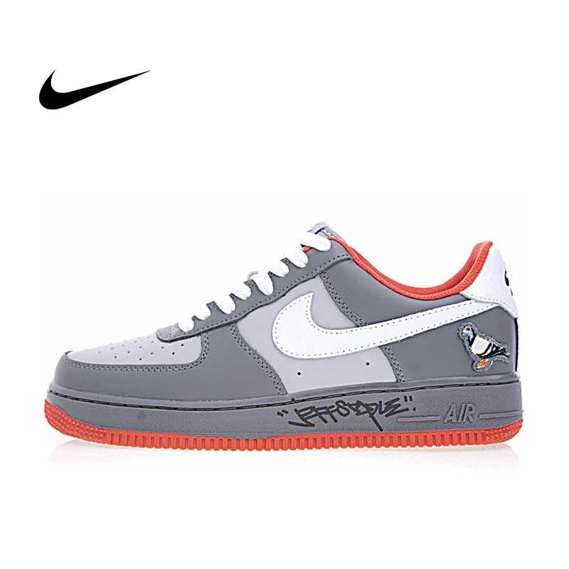 Staple x Nike AIR FORCE 1  Pigeon 簽名版 灰鴿子 情侶鞋 1304292-011