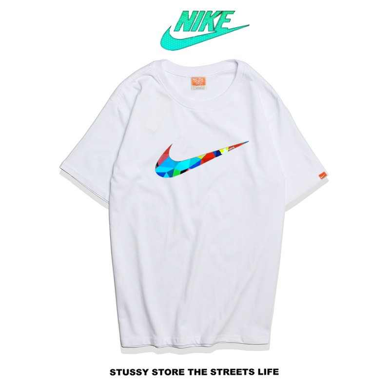 Nike Futura Icon Logo Tee 藝術字勾 經典款 男款 白色