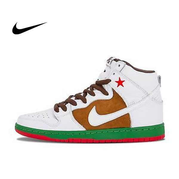 NIKE DUNK HIGH PREMIUM SB CALI 海尼根 加州 紅星 情侶鞋 313171-201