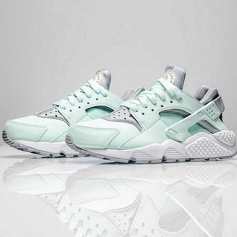 Nike Air Huarache Run Premium 華萊士 綠灰 女款