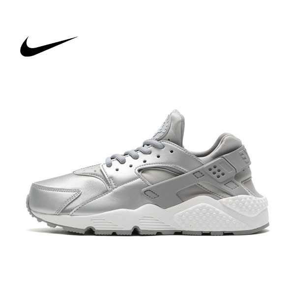 NIKE AIR WMNS HUARACHE RUN SE 白銀 武士鞋 情侶鞋 859429-002