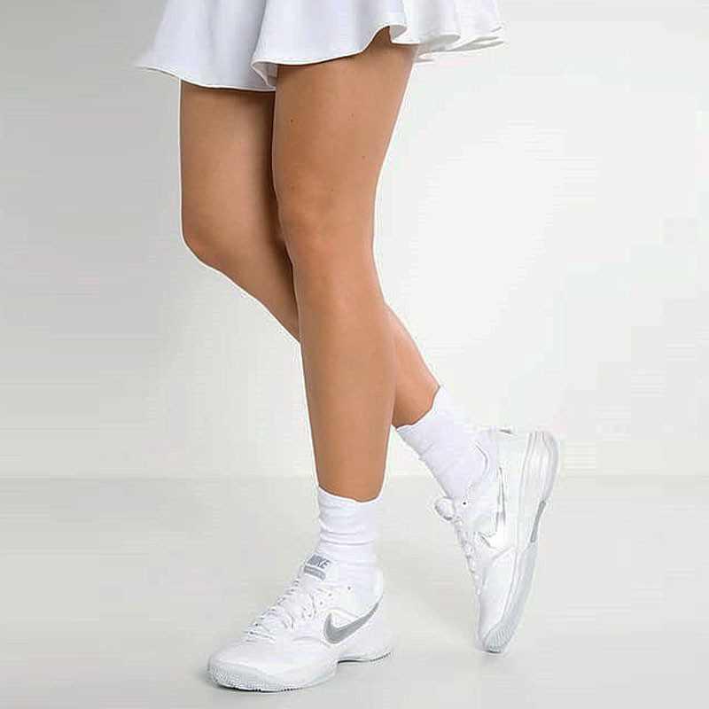 Nike Court Lite 韓系 復古 網球 旅遊鞋 白銀 845048-100