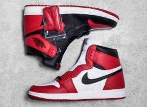 Air Jordan 1黑紅
