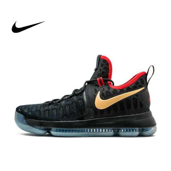 NIKE ZOOM KD 9 LIMITED 杜蘭特9代 黑金 男子籃球鞋 843396-470