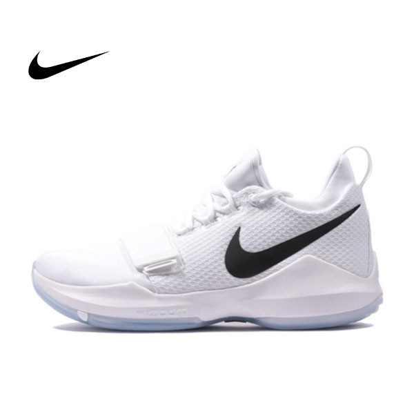 NIKE PG 1 EP WHITE ICE 白黑 喬治 耐磨 籃球鞋 男 878628-100