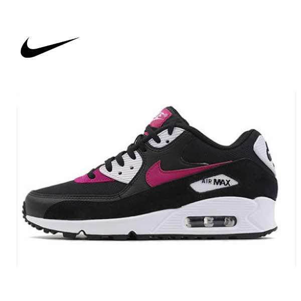 NIKE AIR MAX 90 黑 粉紅 氣墊 慢跑鞋 女鞋 325213-040