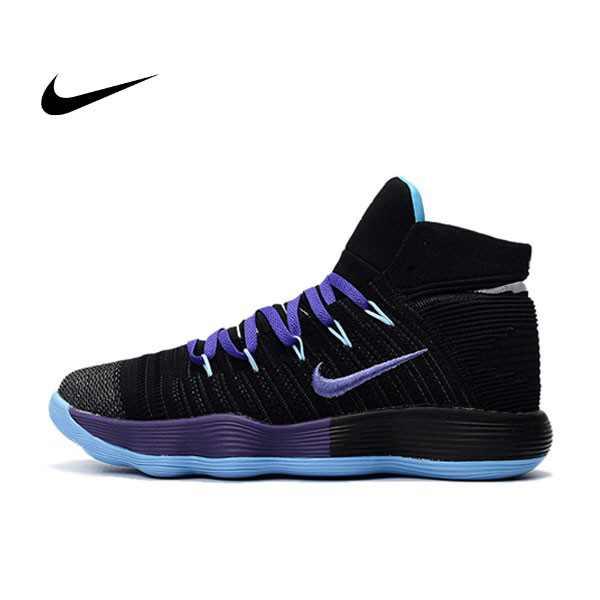 Nike React Hyperdunk Flyknit 黑紫 籃球鞋