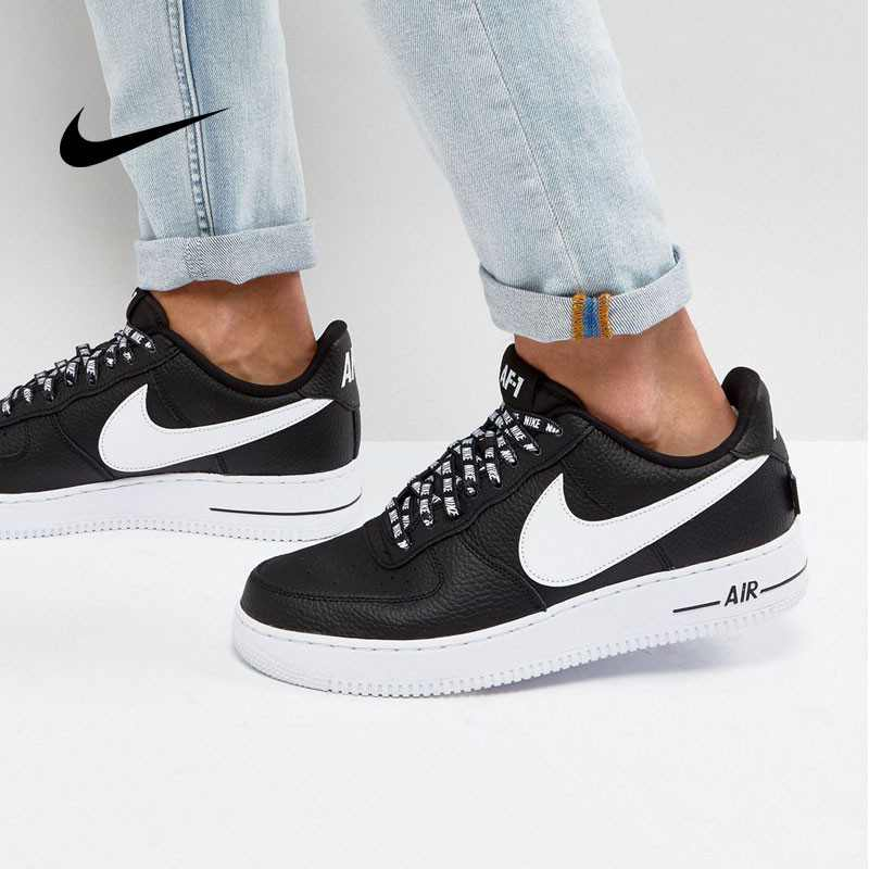 Nike Air Force 1 空軍壹號 經典 黑白 男鞋 823511-007