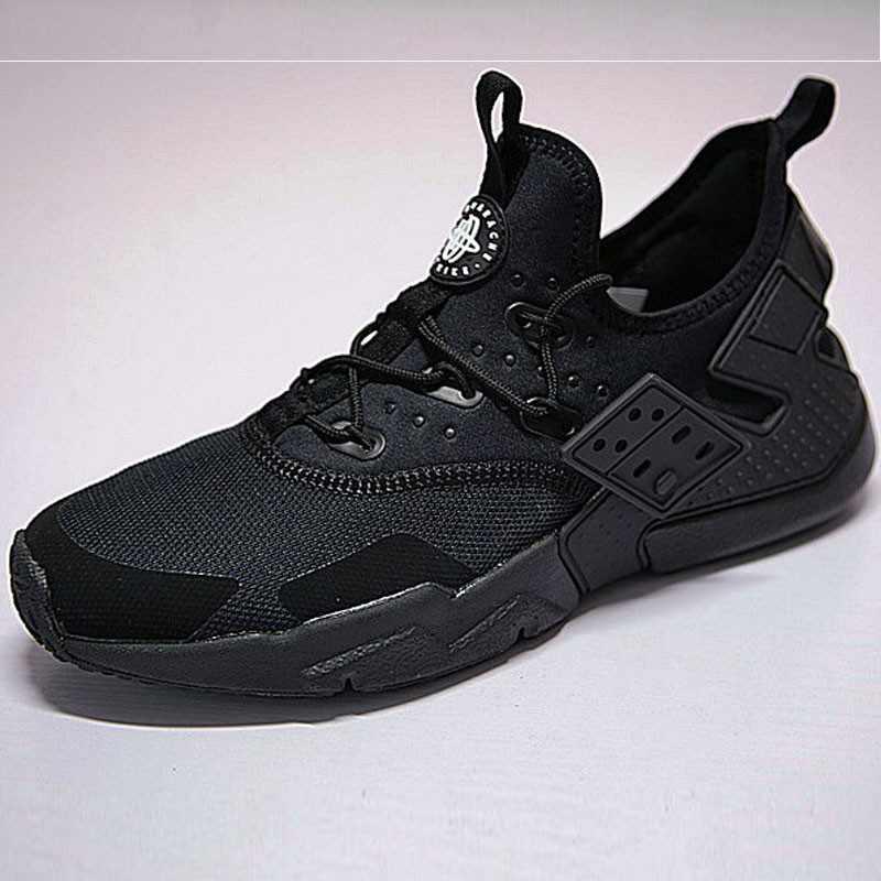 男鞋 Nike Air Huarache Drift Prm 華萊士 漂移6代 復古花樣網面軍全黑 AH7334-003