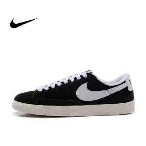 212f1fbe66571b88 300x300 - NIKE BLAZER LOW 麂皮 防滑 黑白 情侶鞋 443603-601