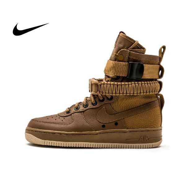 Nike W SF Air Force 1 軍事 高筒 空軍一號 情侶鞋 板鞋 857872-200