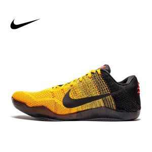 2324b846bd9d403e 300x300 - KOBE XI ELITE LOW BRUCE LEE 李小龍 黃黑 男鞋 爪痕 編織 822675-706