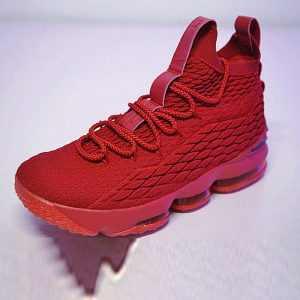 2495015ca7cb4396 300x300 - Nike LeBron 15詹姆斯·勒布朗全新戰靴室內飛線中筒籃球鞋系列 大紅黑勾 897649-60