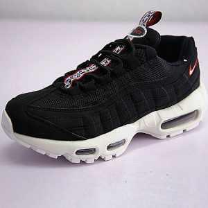24bc4eb8387438b2 300x300 - 男女鞋 Nike Air Max 95 TT 復古氣墊百搭慢跑鞋系列 串標黑白紅 AJ1844-102