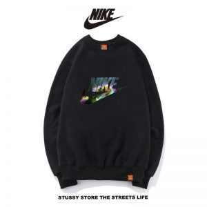 2577a69a2f1530f6 300x300 - Nike男女款 百搭長袖 純棉 薄款 春秋 時尚大學t 衛衣基本款 黑色