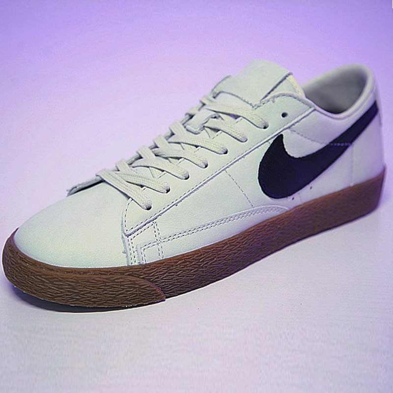 Nike Blazer Low ID 開拓者 經典 百搭 板鞋  水灰黑膠黃 AJ3733-992