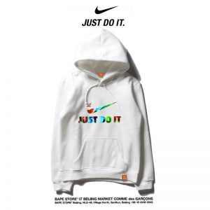 25f8275da3e55856 300x300 - Nike 薄款 百搭帽t 寬鬆 長袖 套頭 休閒衛衣 情侶款 純白