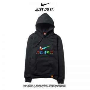 27d48b3510a097ad 300x300 - Nike 薄款 帽T 寬鬆 長袖 套頭 衛衣 情侶款 黑色