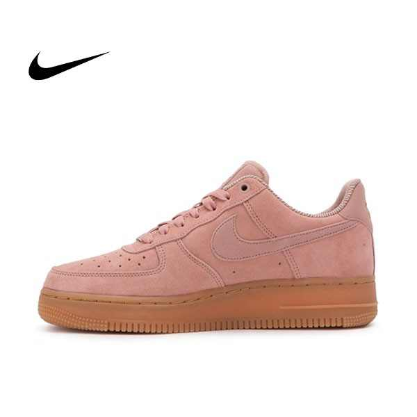 NIKE AIR FORCE 1 07 SE 粉 麂皮 膠底 休閒 運動鞋 女鞋 AA0287 600 YTS