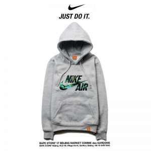 293cfed308409fcc 300x300 - Nike 薄款 寬鬆 長袖 連帽衛衣 套頭 休閒 長袖 情侶款 碎花字勾