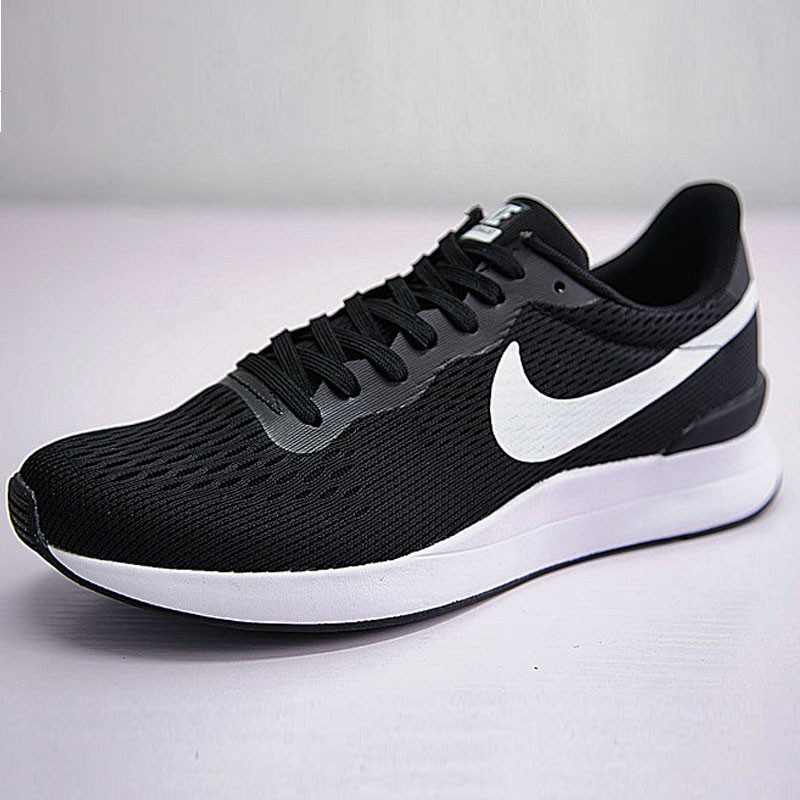 Nike Internationalist 復古 百搭 慢跑 男 黑白 872087-001