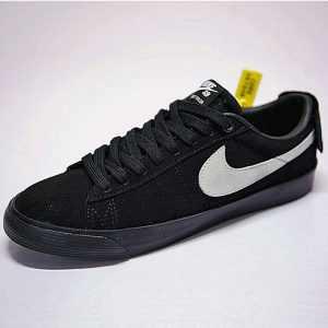 2b47d66353fa3021 300x300 - 情侶鞋Nike SB Blazer Low GT經典開拓者板鞋 全黑白勾後跟魔術貼 943849-010