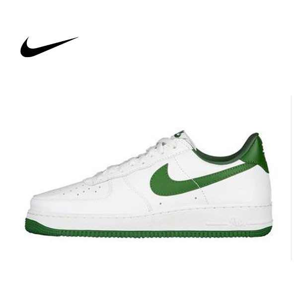 NIKE AIR FORCE 1 LOW RETRO AF1 白綠 男子休閑板鞋 845053-101