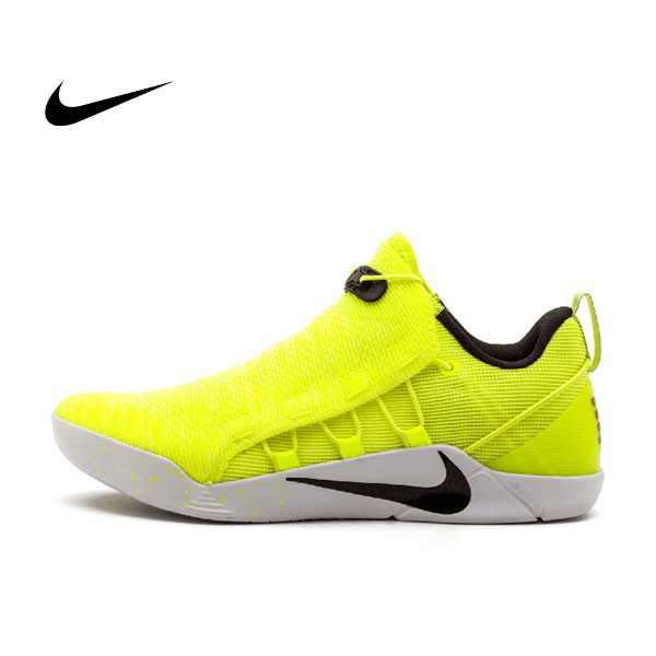 NIKE KOBE A.D. NXT HMD 916832-710 男 螢光黃 白底 低筒籃球鞋