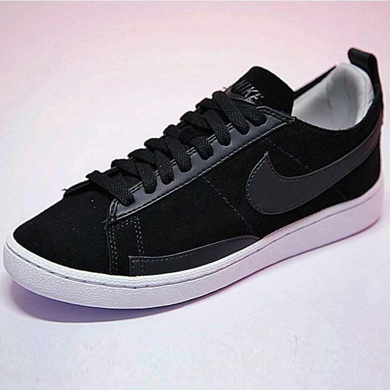 男女鞋 Nike Blazer Low CS TC 內增高 百搭 潮流  黑白 AA1057-001