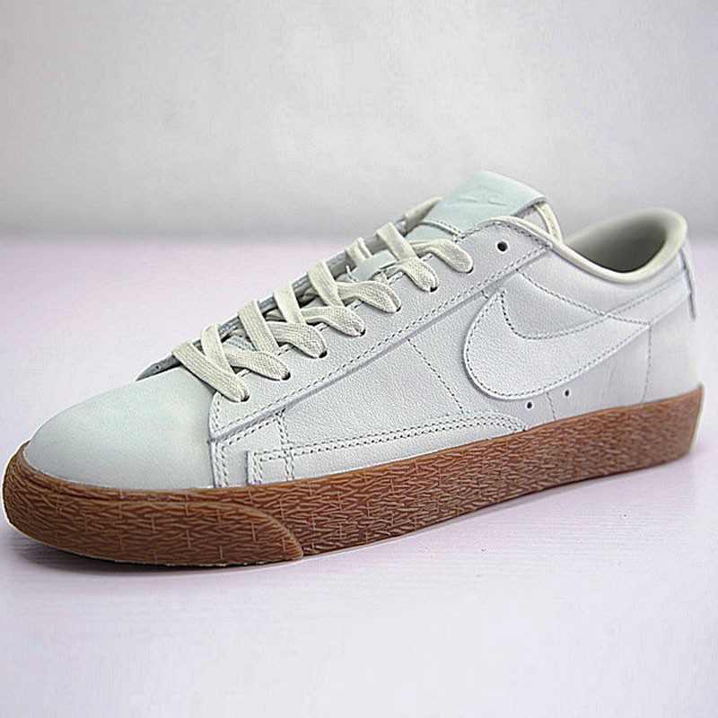 Nike Blazer Low ID 開拓者 經典 板鞋 水灰 情侶鞋 AJ3733-992